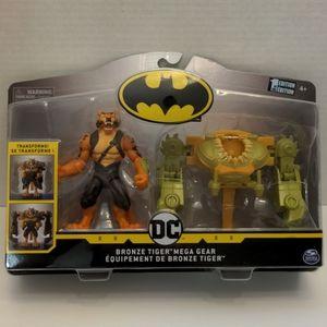 """Batman Bronze Tiger Mega Gear 4"""" Action Figure"""